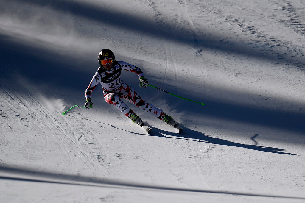 . BEAVER CREEK, CO - FEBRUARY 09: Anna Fenninger of Austria competes during the men\'s alpine combined final. FIS Alpine World Ski Championships 2015 on Monday, February 9, 2015. (Photo by AAron Ontiveroz/The Denver Post)