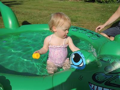 First paddling Pool July 2013