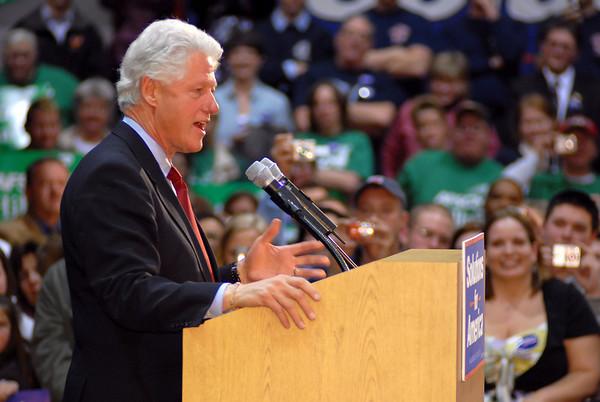 Bill Clinton, Dayton 2-28-07