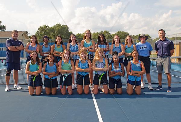Belleville East Girls Tennis Team 2021
