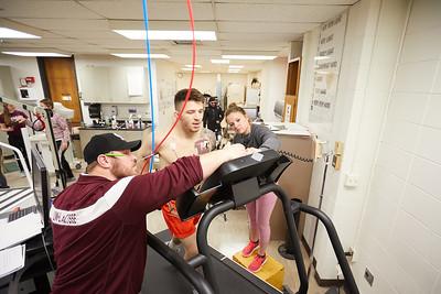 2018 UWL Exersice Sport Science ECG EKG Stress Test Lab