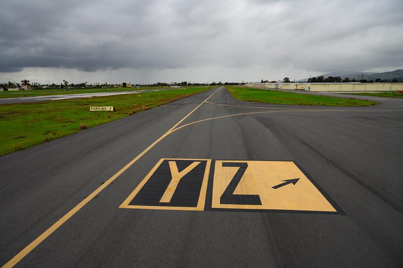 Taxiway Y & Z