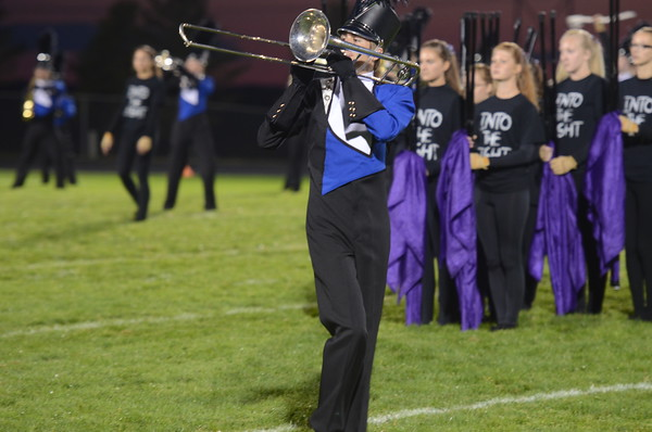 Marching Band, Football Game - 9-12-14