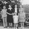 Dick, Grandma Hendren, Aunt Tillie, Mary Lou & Joan