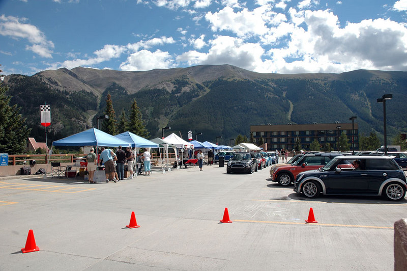 MINI drivers, passengers, co-pilots and vendors came from near and far to the mountains of Summit County.