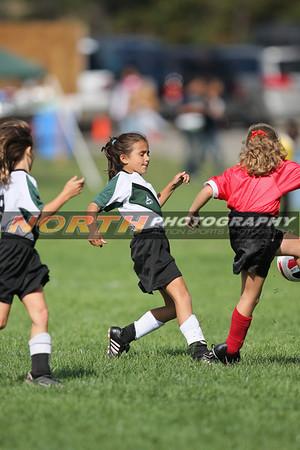(U-9 Girls B) PMYSL Thunder vs. Farmingdale 2