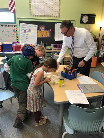 Superintendent Visit Nederland Elementary 2018-10-22