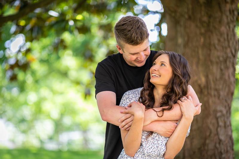 Lauren & Josh | Engagement Session in Buena Vista, VA