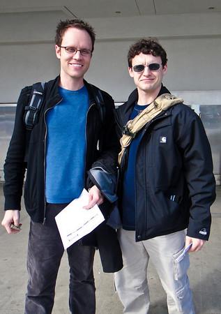 Brandon & Dan in Europe 2011