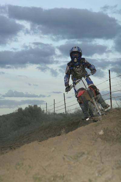 2008 Desert 100--Play Area Short Track   Red Bikes