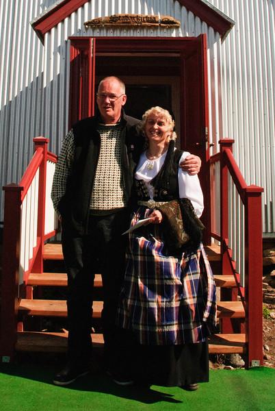 Einar Hreins og Inga smiður