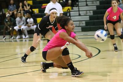 2015 SCC Volleyball vs Phoenix College 10-2-15