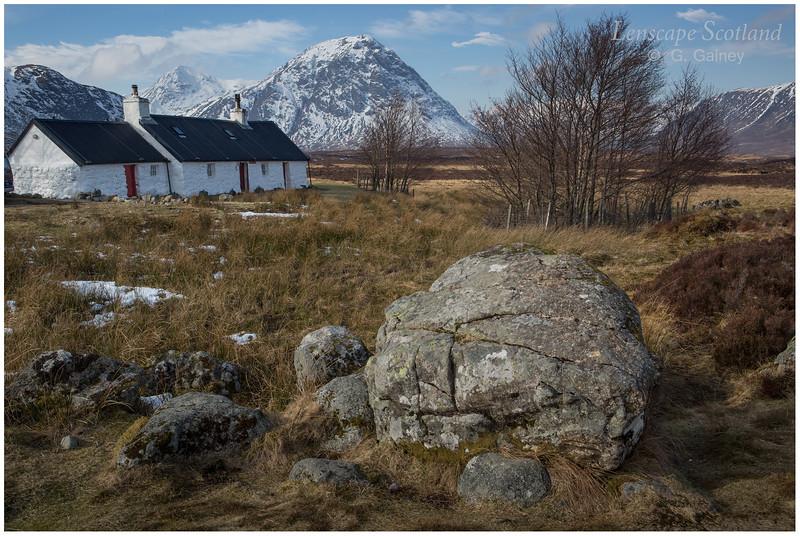 Blackrock Cottage and Buachaille Etive Mor (1)