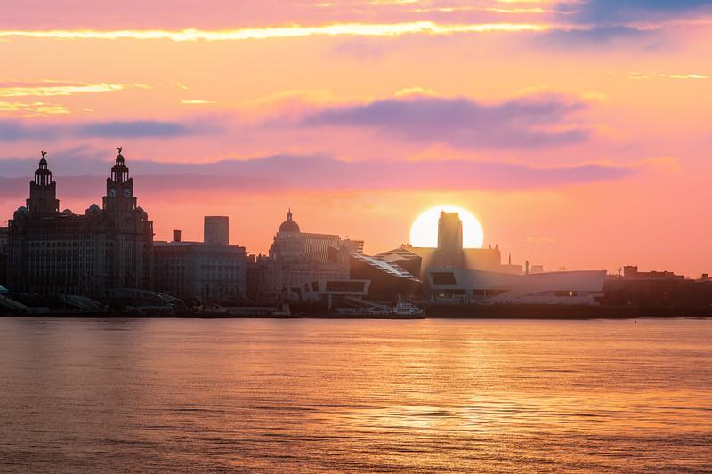 Liverpool Waterfront Sunrise