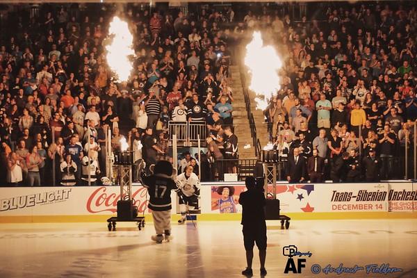 Orlando Solar Bears Vs Jacksonville Icemen 10/14/2017 (Inaugural Game)