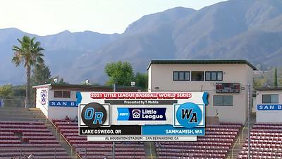 2021-08-14 - vs Oregon Screen Grabs