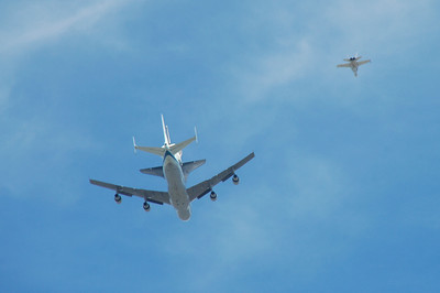 Space Shuttle Endeavour Last Flight 9/21/12