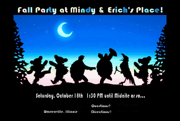 20141018 Fall Party at Mindy & Erich's Place!