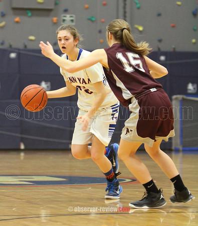 Penn Yan Basketball 2-13-15