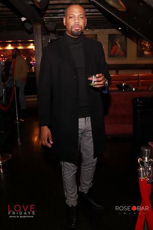 Friday, November 20, 2020 Atlanta Ga at Rose Bar #LoveFridays