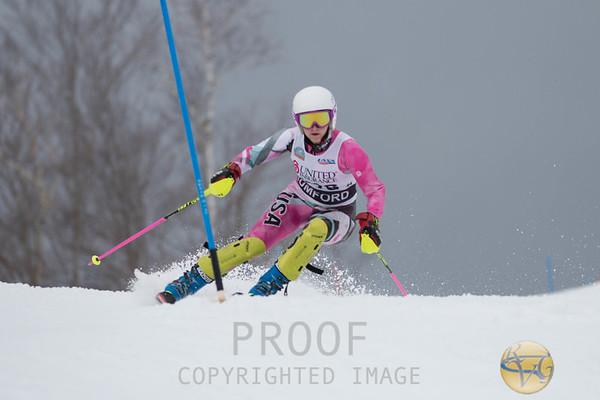 2018 Girls Class A Slalom 1st Run