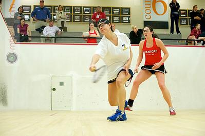 2011-02-18 Andrea Echeverria (Trinity) and Kathryn Corelli (Stanford)