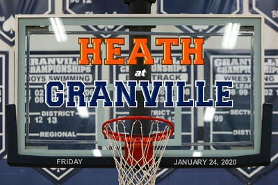 2020 VARSITY - Heath at Granville (01-24-20)