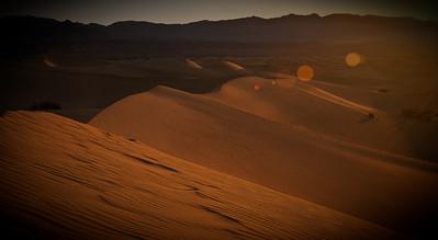 Death Valley, Big Sur, San Francisco