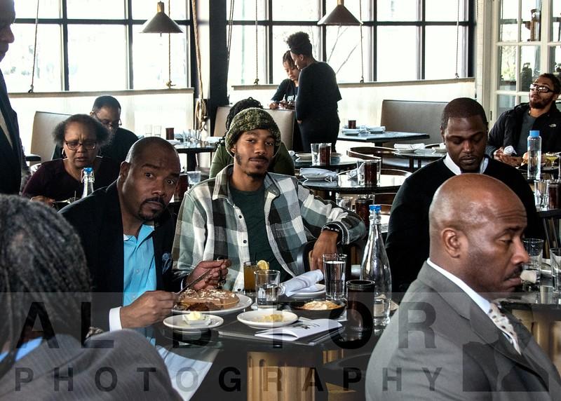 Feb 10, 2019 100 Black Men Philadelphia - Pinning ceremony