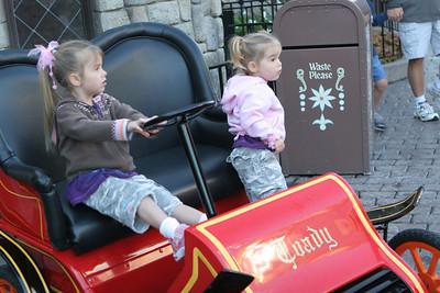 10-6-2007 Disneyland with Sidney and Aeryn