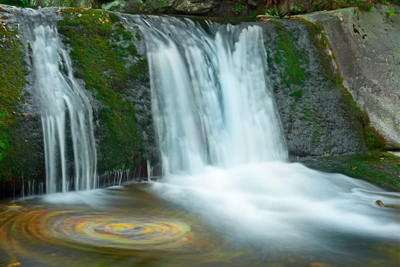 Hunt Fish Falls in Autumn