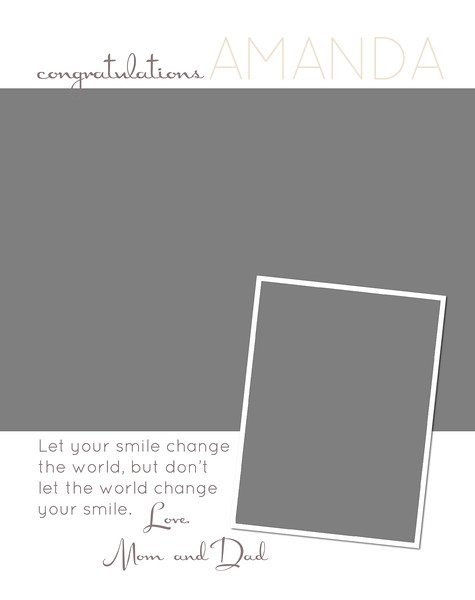 Your Smile - Full Page Template #2