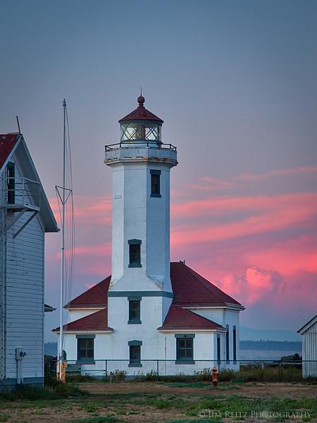 Fort Worden LIghthouse - Port Townsend, WA