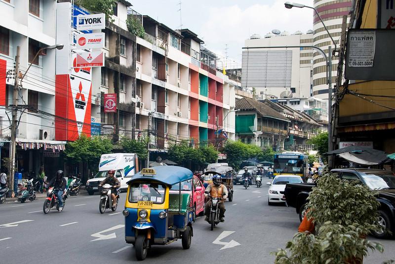 Street scene near our hotel