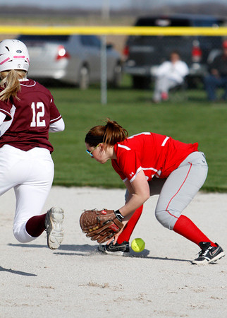 SN Softball vs Winamac 2013