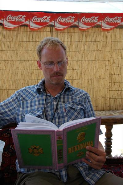 Ruhnama Reading - Ashgabat, Turkmenistan