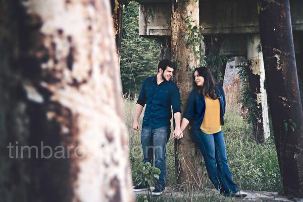 Katelyn + Aaron Engagement | 2017