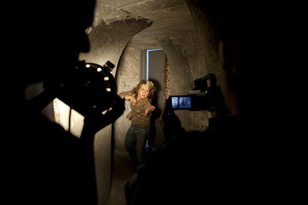 """2014-11-29 - Tournage clip de Vison sur """"les danses nuptiales"""""""