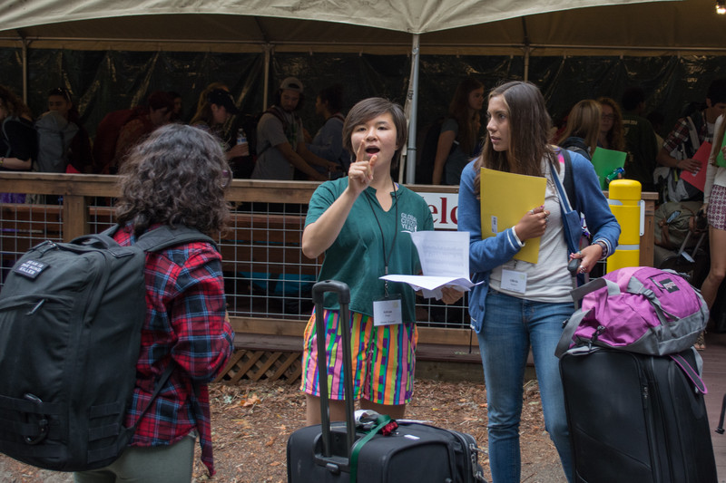 Redwoods - Predeparture Training 2014