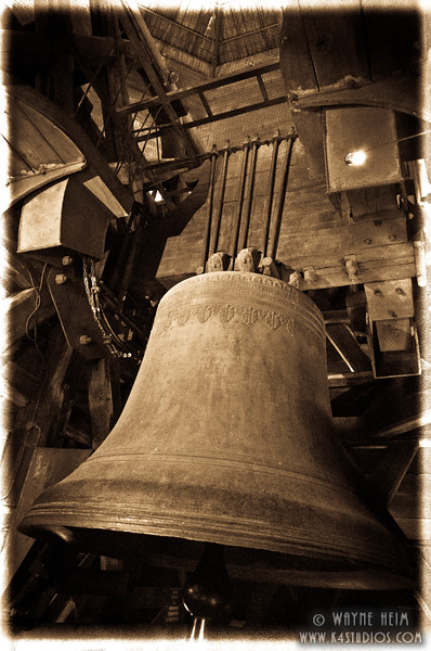 Bell of Notre Dame   Photography by Wayne Heim