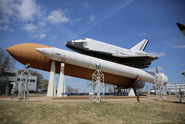 Visit to Space Center - Rocket City Regional Trip 3-23-16