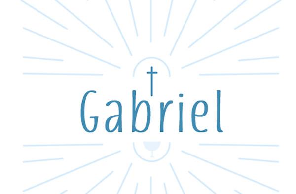 Comunión de Gabriel - 4 octubre 2020