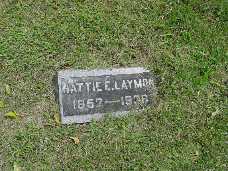Harriet Elizabeth Laymon Troutwine Cemetery, Lynchburg, Ohio