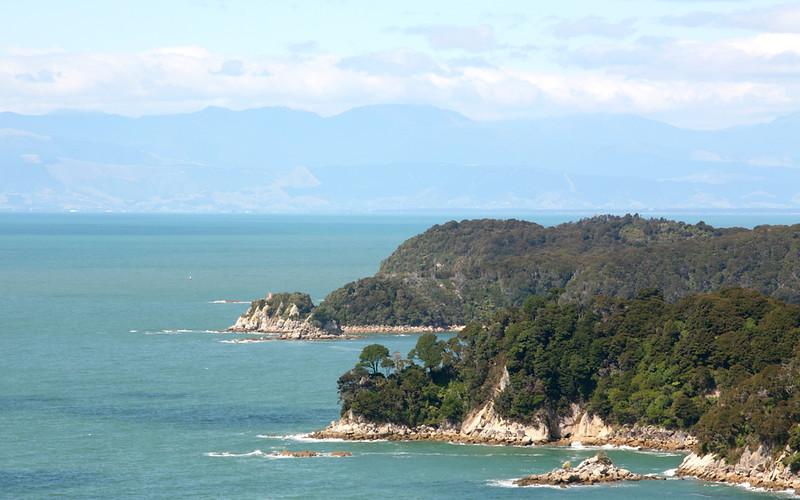 Küste im Abel Tasman