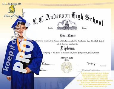 2018 Anderson HS Keedjit Diploma Proofs
