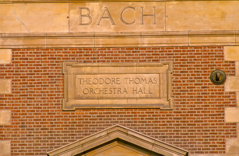 Symphony Center architectural detail