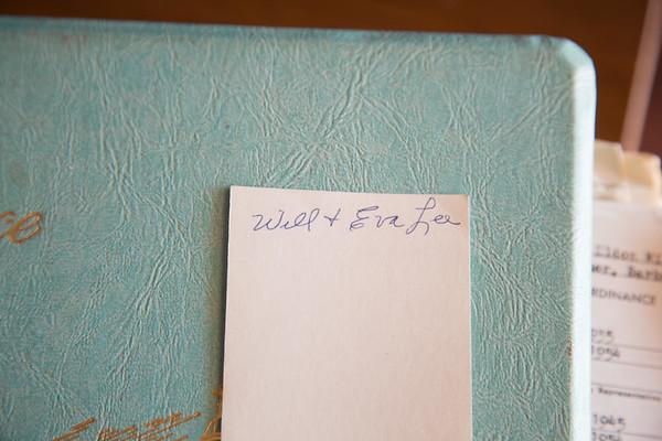 Eldon Lee's scrapbook