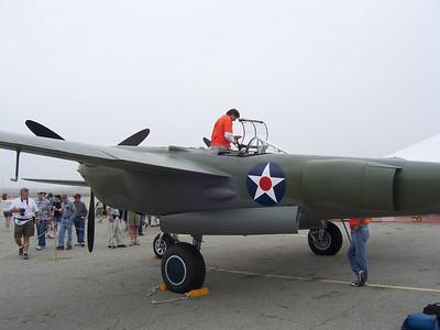 P-38's at Chino Airshow 2007