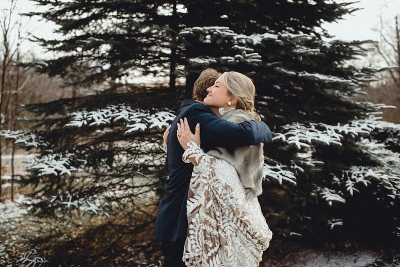 Requiem Images - Luxury Boho Winter Mountain Intimate Wedding - Seven Springs - Laurel Highlands - Blake Holly -532.jpg