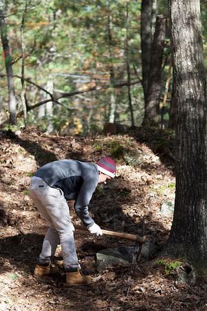15-10-17 Mountain Bike Club Trail Maintenance